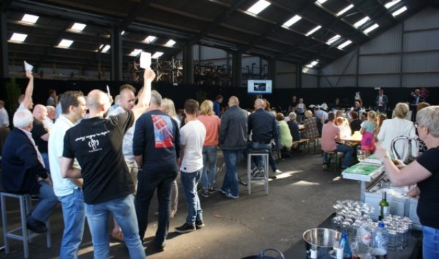 Zaterdag 7 juli a.s. is de jaarlijkse veiling van Werkgroep De Ruyter.