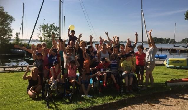 Stichting Nadja op zeilvakantie. | Archieffoto: St. Nadja