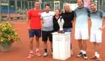 Sterk deelnemersveld strijdt op de Gevers-tennisbanen