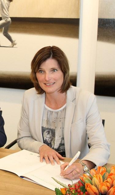 Wethouder Jolanda Langeveld.
