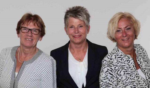 Ankie Jochemsz, Willemijn Heijink en Wilma Bleeker. | Foto: pr.