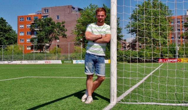 Thymen Kruider: 'We hebben als sportverenigingen veel laten liggen'. | Foto Willemien Timmers