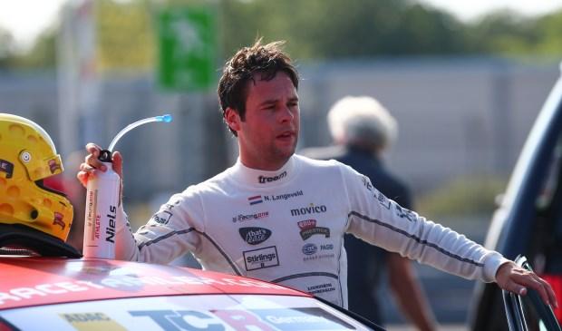 Niels Langeveld na de races op de Nurburgring.   Foto: pr.