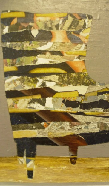'De Stoel' van kunstenares Ineke Tesselaar. | Foto: pr.