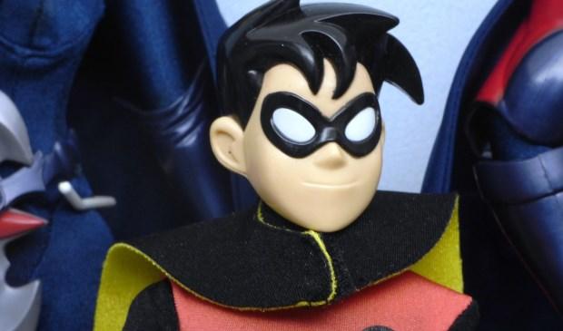 Robin, het hulpje van Batman.