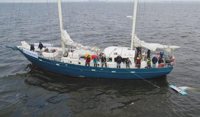 Oegstgeestenaar Karl Beerenfenger is expeditieleider van een 22-daagse zeilexpeditie naar Denemarken om bewustwording te creëren over de plastic soep.   Foto PR