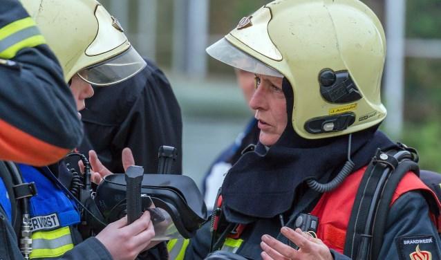 Jacqueline Anholts: 'Ik heb me als brandweervrouw altijd volledig geaccepteerd gevoeld bij ons korps.'