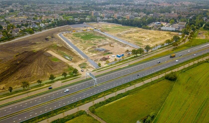 De weg De Boeg ligt er al met aansluiting op de Haarlemmerstraatweg. | Foto Eric Krom