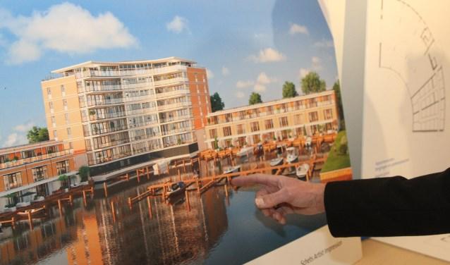 Er is veel te doen geweest rond de plannen van ontwikkelaar Adriaan van Erk met het Elka-terrein.