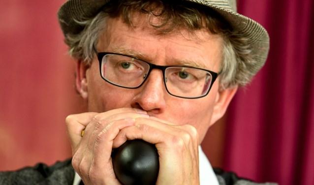 Jos Leijen: 'Ik beleef veel plezier aan de mondharmonica'. | Foto: pr.
