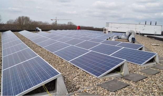 Zonnepanelen leveren duurzame energie.