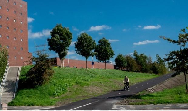 Vanaf de Zijldijk is met spoed een extra fietsopgang naar de Oude Spoorbaan en de Zijlbrug aangelegd.