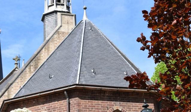 Even tot rust komen in de Kleine Kerk. | Foto: PR