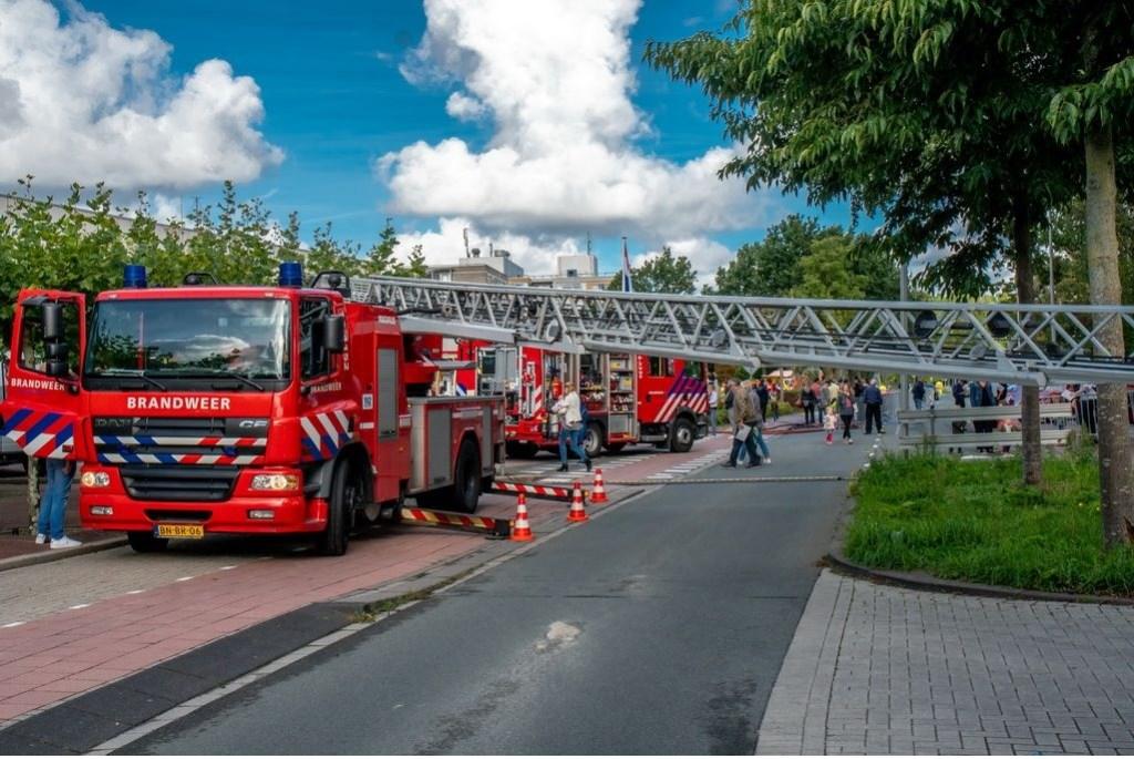 Demonstratie van het groot materieel. Foto: Johan Kranenburg © uitgeverij Verhagen
