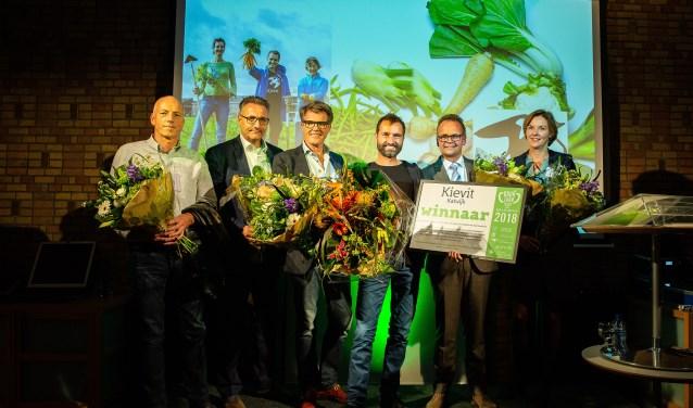 De winnaars van Duurzaamheidsprijs Duin- & Bollenstreek 2018. | Foto: Martine Goulmy
