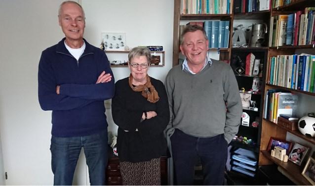 Van links naar rechts: Alex Ramakers, Anneke van der Sluis en Dirk Jan Broer. | Foto: PR