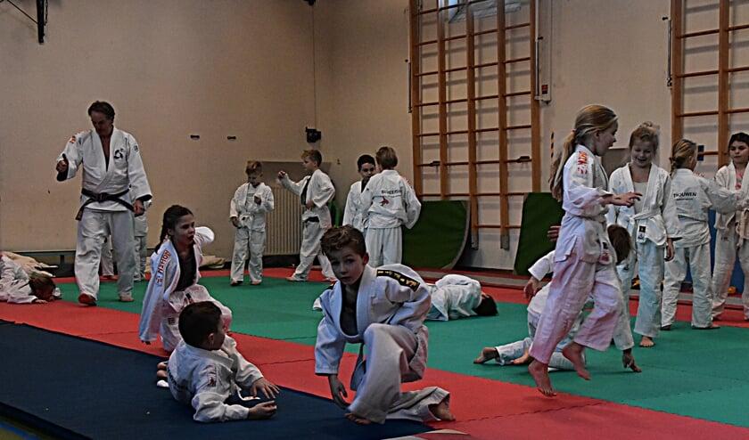 De Christelijke Opleidingsschool biedt als eerste in Katwijk judoles. aan. | Foto: Piet van Kampen