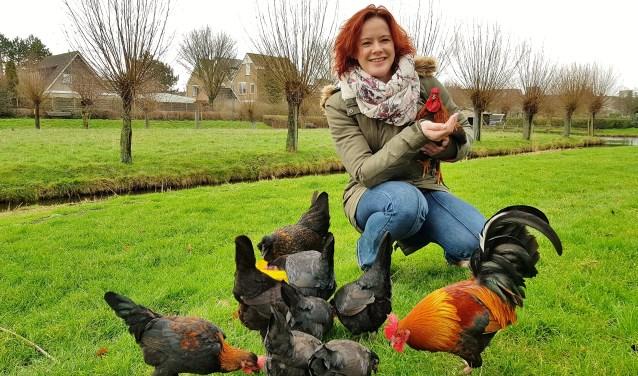 Ivonne Janka wil door het starten van een zorgboerderij iets voor anderen betekenen. | Foto Willemien Timmers