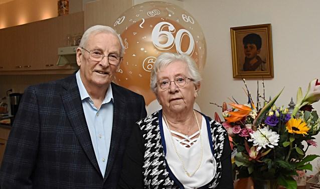 Het jubilerende echtpaar.