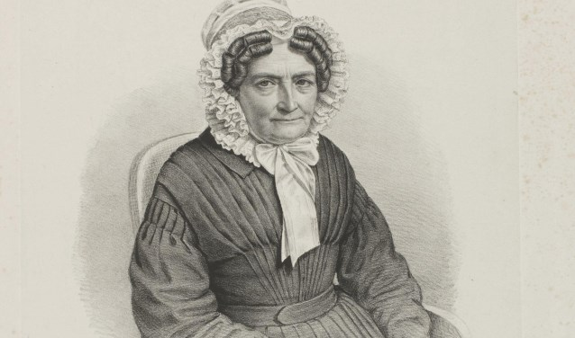 Johanna van der Hoop, echtegnote van Diederik van Leyden Gael.