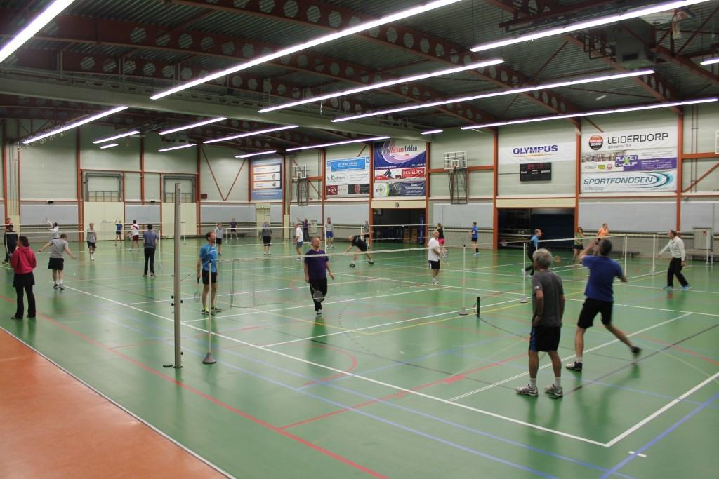 Tijdens de introductietraining leer je de basis van het badminton. | Foto: PR  © uitgeverij Verhagen