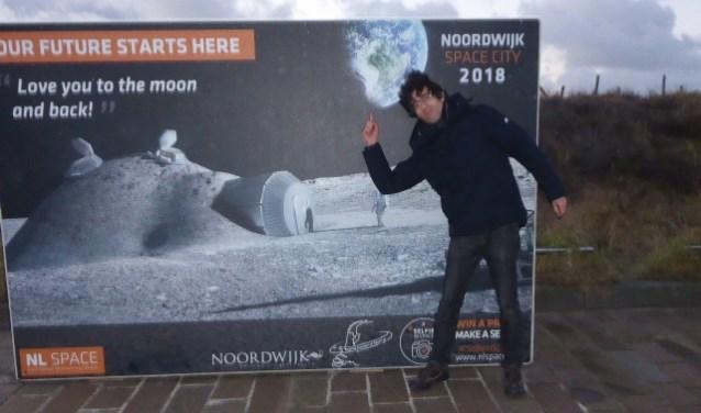 Sid Barnhoorn maakte de winnende selfie. | Foto: Ina Verblaauw