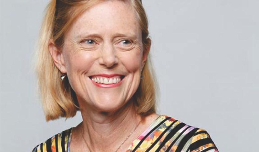 Melissa Little, Australische wetenschapper en Leids eredoctor 2019. Zij is een van de wetenschappers die deze avond een liefdesverklaring aan de wetenschap doet