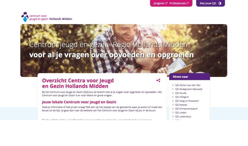 Het Centrum voor Jeugd en Gezin heeft een nieuwe website.