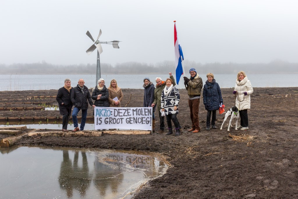 Protest in 2018. | Archieffoto Wil van Elk