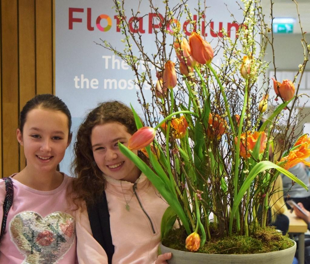 FloraPodium op school. Foto: Barendsen © Verhagen