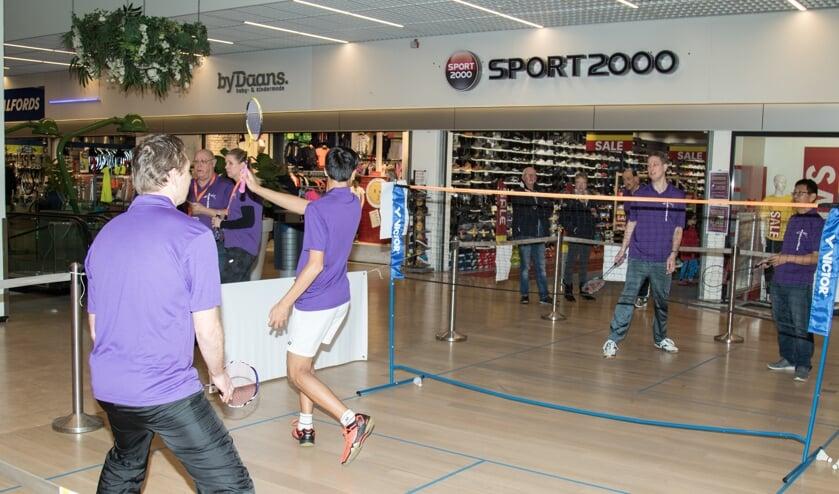 Op 9 februari kun je in Winkelhof kennis maken met badminton. | Foto: PR