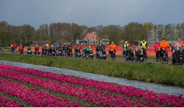 Hopelijk wordt het weer een tocht tijdens mooi weer, waarbij je extra kunt genieten van de bloeiende bollenvelden.