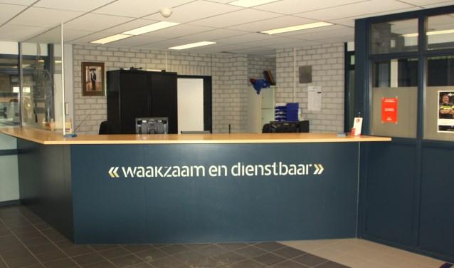 Zoals het er nu uitziet is er in de toekomst een leeg politiebureau in Noordwijk. | Foto: WS