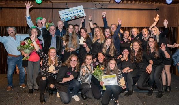 De winnaars van de Sportprijzen Teylingen en Het Beste Idee. | Foto: René van Dam