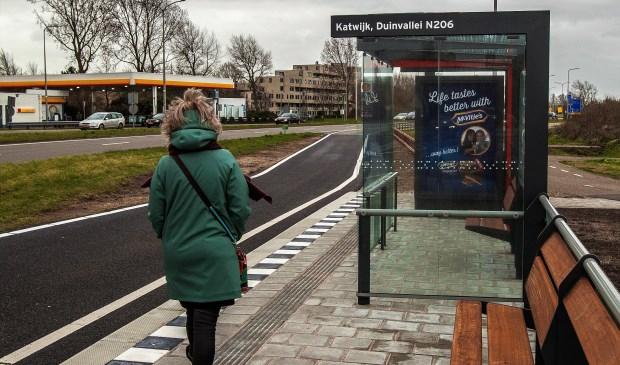De eerste van 12 nieuwe R-net bushaltes wordt vanmiddag officieel geopend.