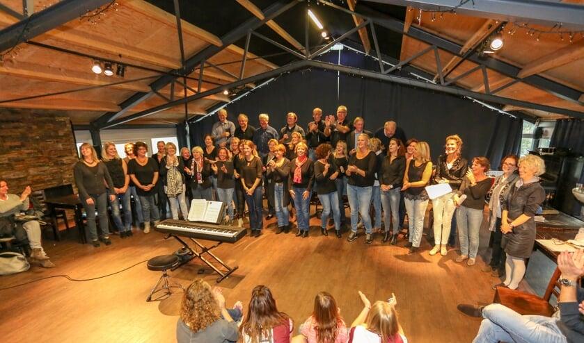 Eind 2015 liet het koor al van zich horen tijdens muziekworkshops.