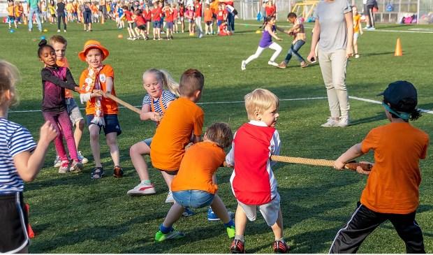 De Koningsspelen op de velden van RCL in 2018.