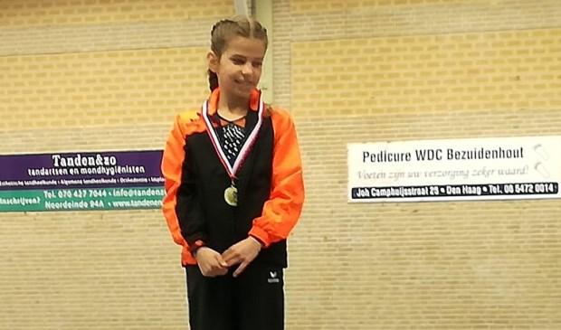 Winnares Fien Verplancke. | Foto: PR