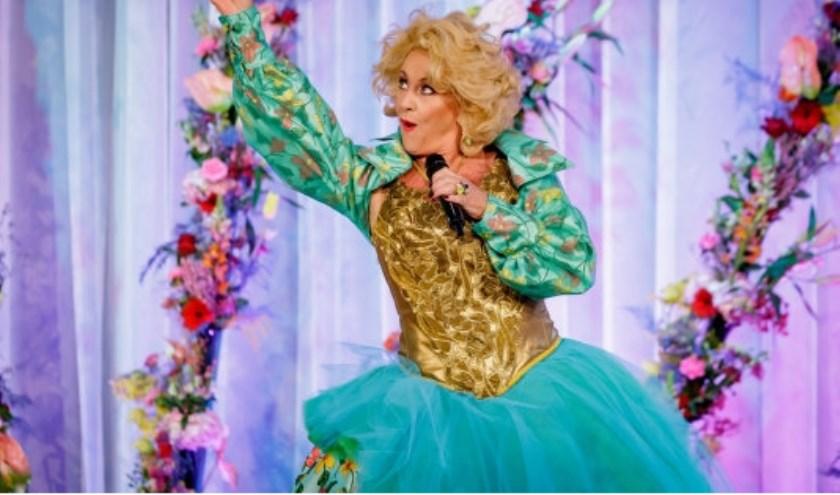 Karin Bloemen stal in Keukenhof de show tijdens de officiële opening.