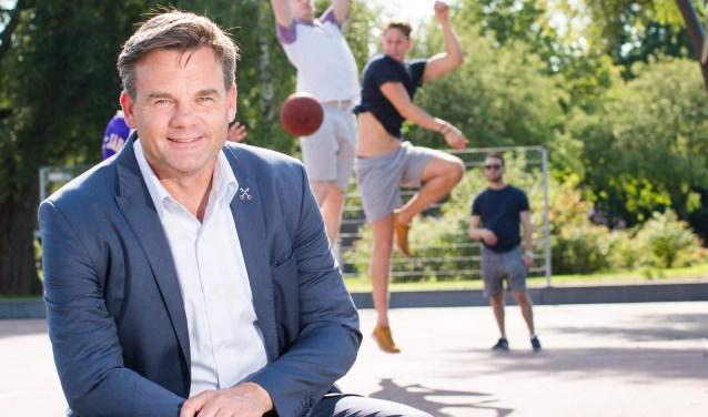 Wethouder Dirkse gaat voor een bewegelijk Leiden. Foto: Mike van Bemmelen.