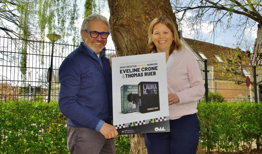Joop Verdonk en Caroline Vink: 'Veel Oegstgeestenaren hebben een interessant verhaal te vertellen.