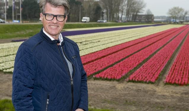 Willem Heemskerk, voorzitter van het Bloemencorso van de Bollenstreek.