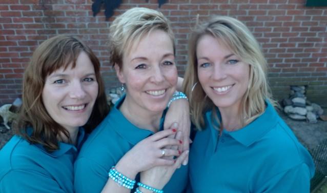 Helga, Bianca en Alice zetten zich met ziel en zaligheid in voor Adamas Inloophuis.