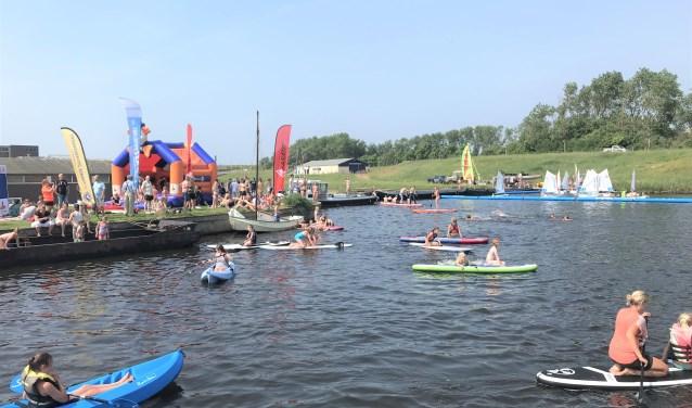 'Waterratten' kunnen zich zaterdag helemaal uitleven bij de Watersportdag. | Foto: pr