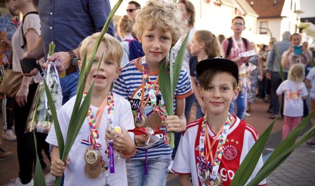 De medaille is binnen!   Foto: Tonny de Rooij - Hillegom Online.