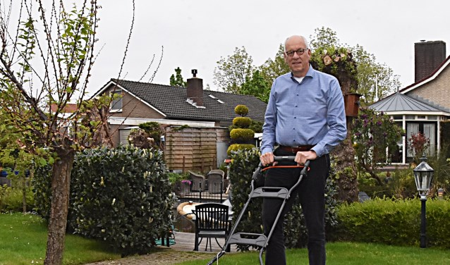 Gisteren nam Piet de Vries afscheid als Katwijk Marketingman.   Foto: Piet van Kampen