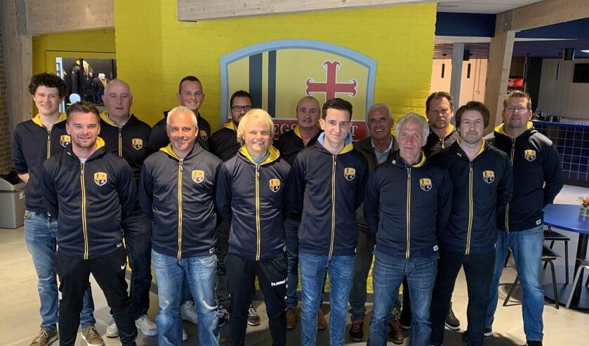 De jongens/heren-trainers van FCO voor het seizoen 2019-2020.
