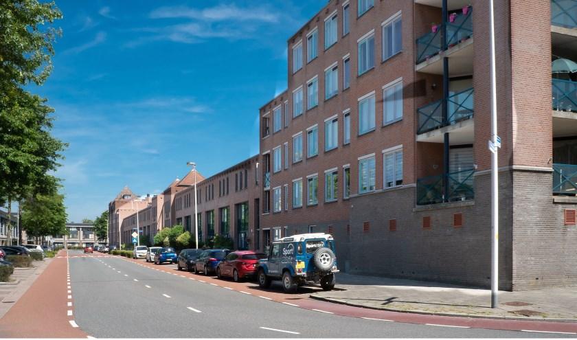 De Torenwacht, de ringweg in de wijk Leyhof.