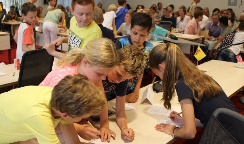 De kindergemeenteraad beslist welk project een bijdrage krijgt.   Foto: archief