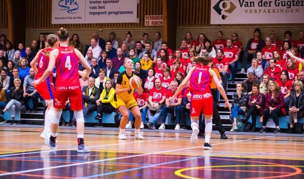 De dames van Grasshoppers zijn de play-offs goed begonnen.    Foto: Geert Bekker